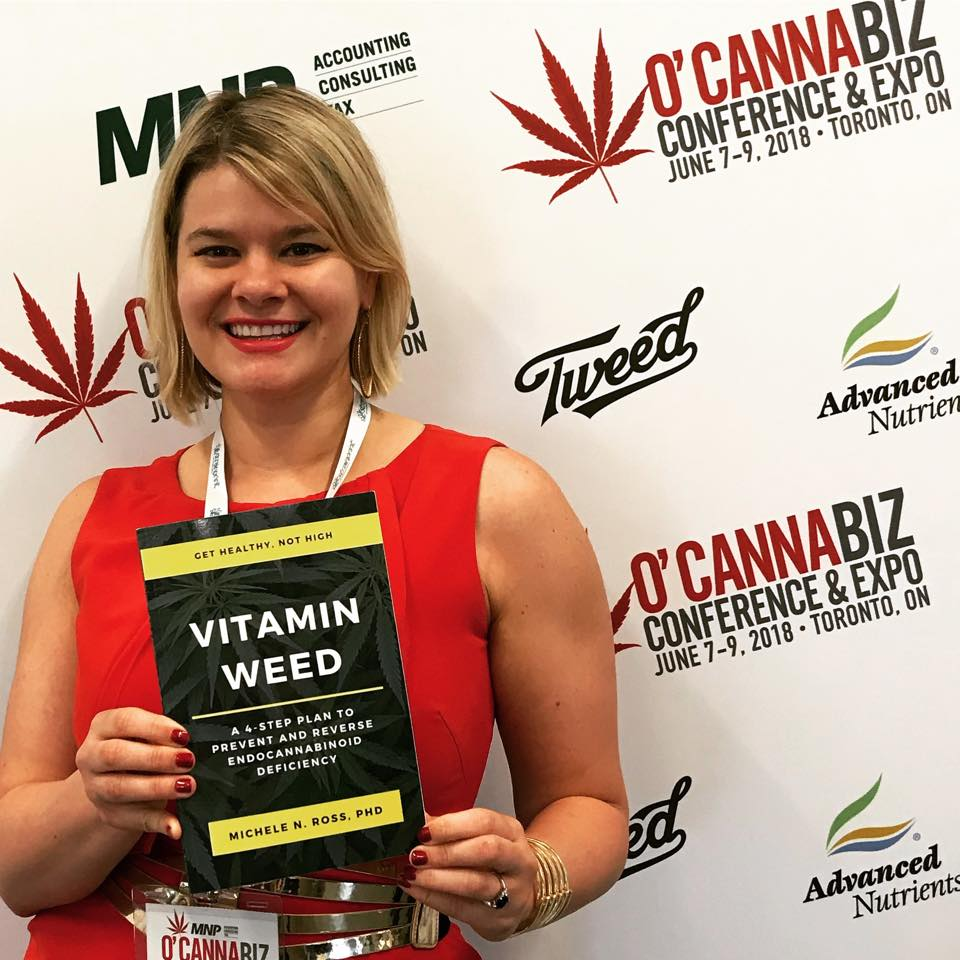 Dr. Michele Ross author of Vitamin Weed