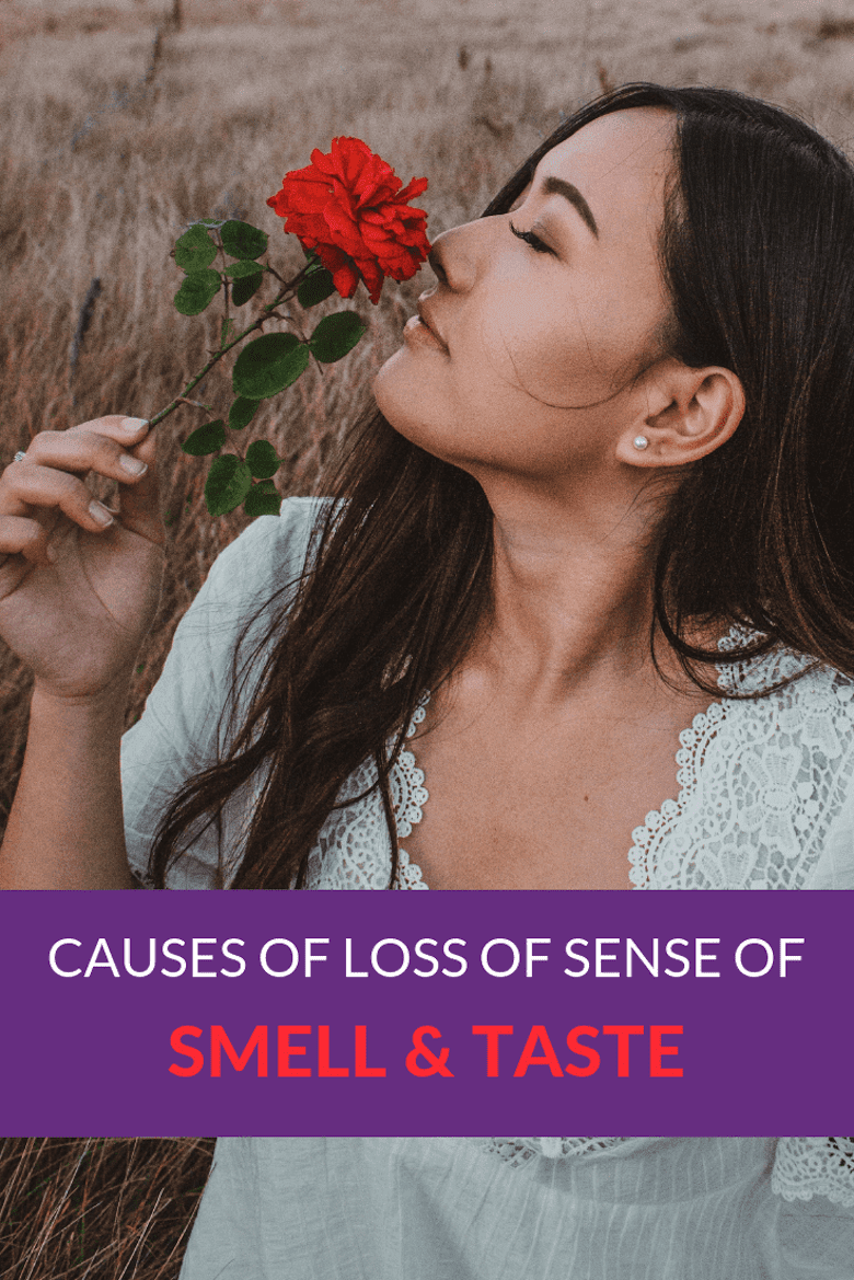 Causes of Loss of Sense of Smell & Taste