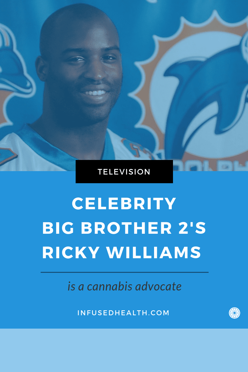 Celebrity Big Brother 2\'s Ricky Williams Is A Cannabis Advocate