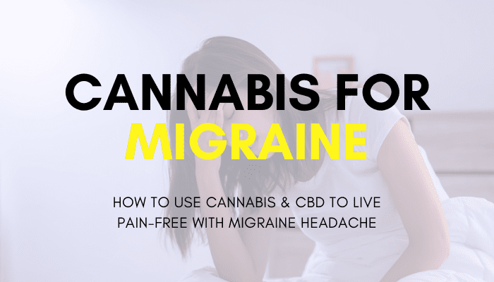 woman holder her head in pain from migraine headache