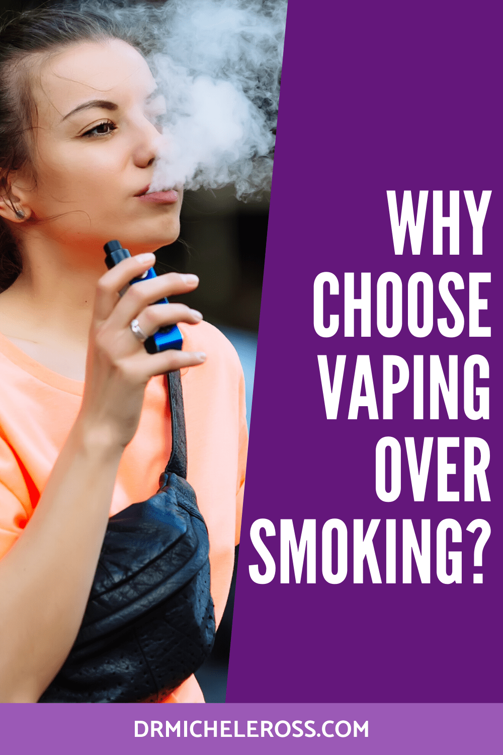 Why Do People Choose Vaping Over Smoking?