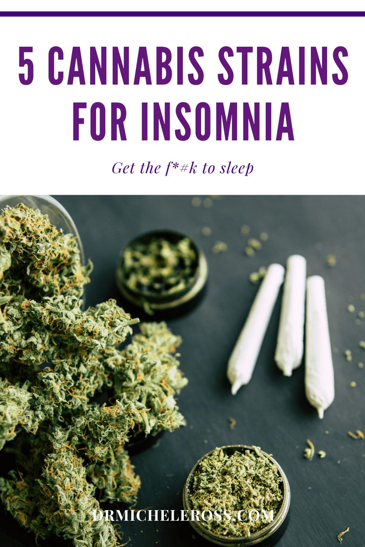 Top 5 Cannabis Strains For Insomnia