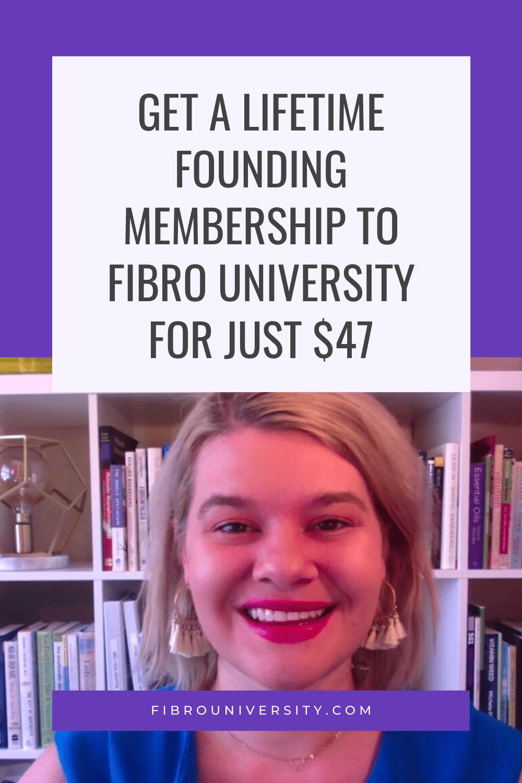Fibro University Is Open For Enrollment!