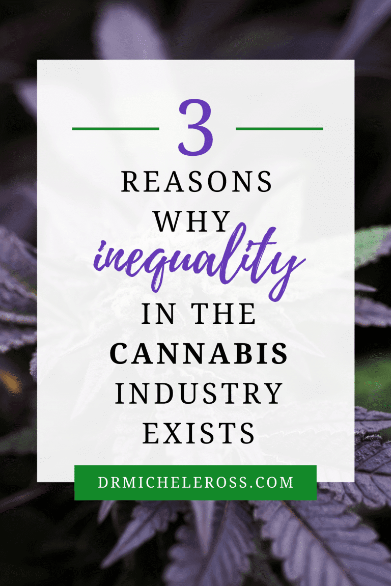 3 Reasons Why Inequality In The Cannabis Industry Still Exists