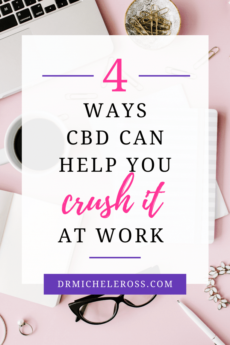 4 Ways CBD Can Help You Crush It At Work
