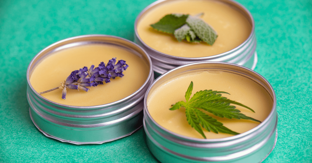 Lavender and peppermint cbd salve