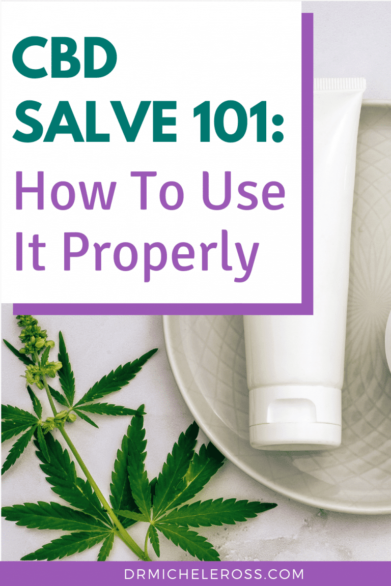 How To Use Your CBD Salve Properly