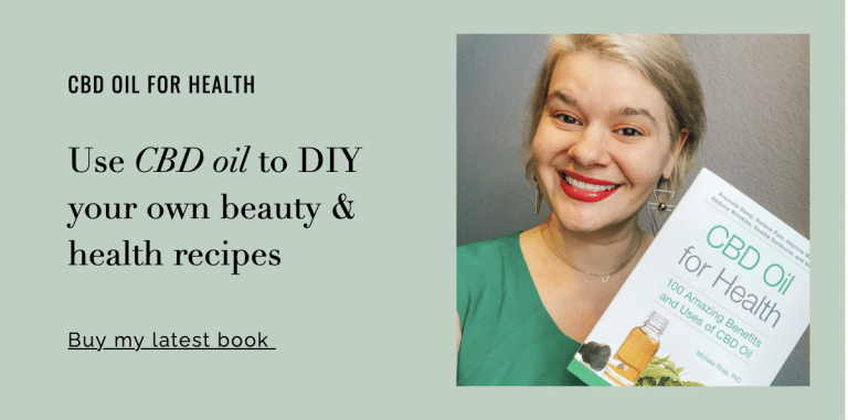 Use CBD oil products for beauty and health recipes