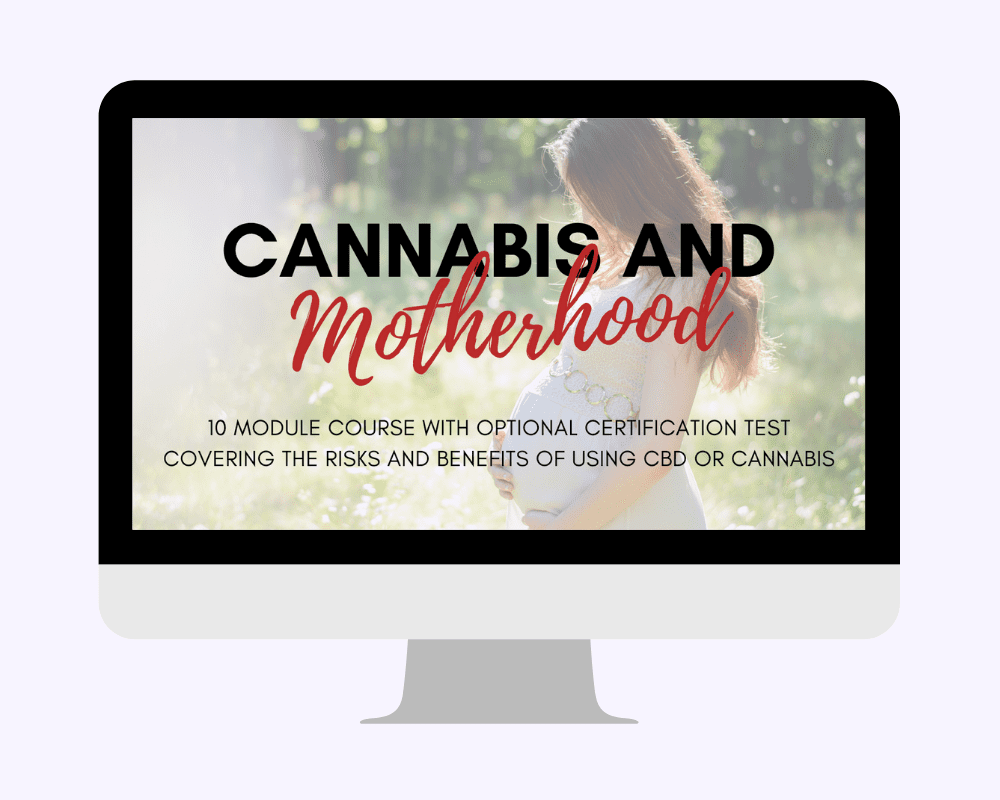 Black Friday 2020 Sale: Save $300 on Cannabis and Motherhood Certification Course by Dr. Michele Ross