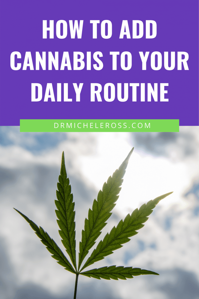 How To Add Cannabis To Your Daily Routine