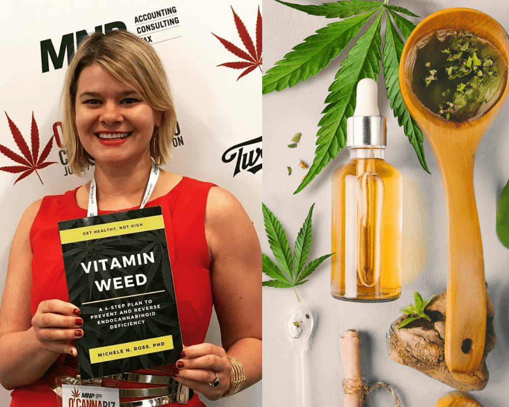 Black Friday 2020 Sale: Buy Personalized Cannabis Consultation with Dr. Michele Ross get Signed Vitamin Weed Book For Free